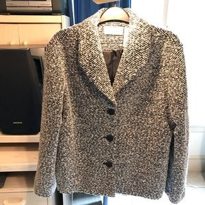 Alfred Dunner shawl collar jacket